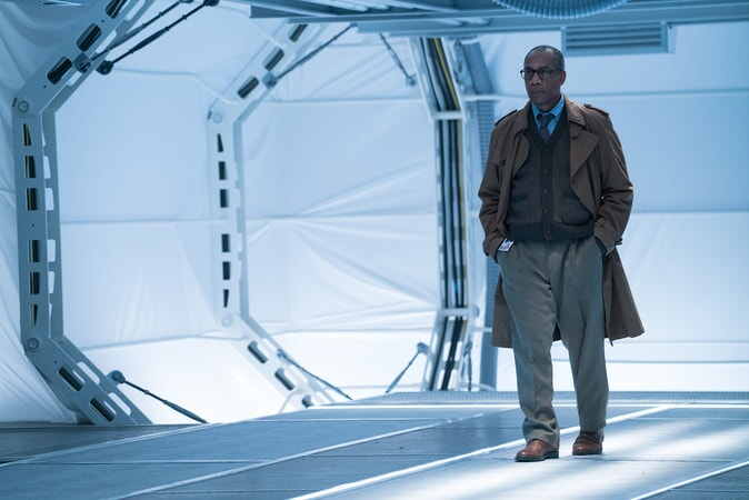 "JOE MORTON as Dr. Silas Stone in Warner Bros. Pictures' action adventure ""JUSTICE LEAGUE,"" a Warner Bros. Pictures release."