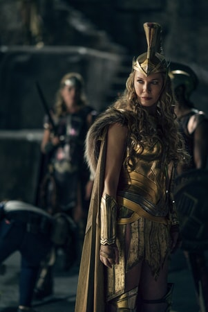 "CONNIE NIELSEN as Queen Hippolyta in Warner Bros. Pictures' action adventure ""JUSTICE LEAGUE,"" a Warner Bros. Pictures release."