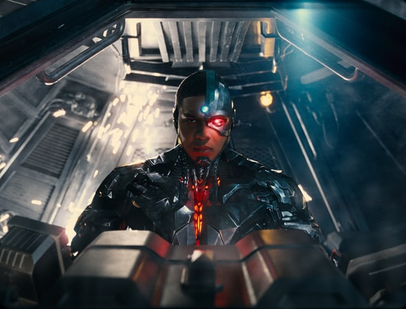 "RAY FISHER as Cyborg in Warner Bros. Pictures' action adventure ""JUSTICE LEAGUE,"" a Warner Bros. Pictures release."