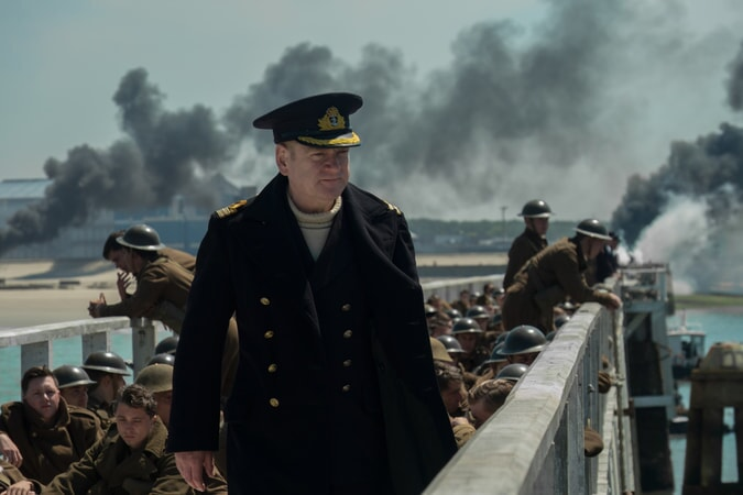 "KENNETH BRANAGH as Commander Bolton in the Warner Bros. Pictures action thriller ""DUNKIRK,"" a Warner Bros. Pictures release."