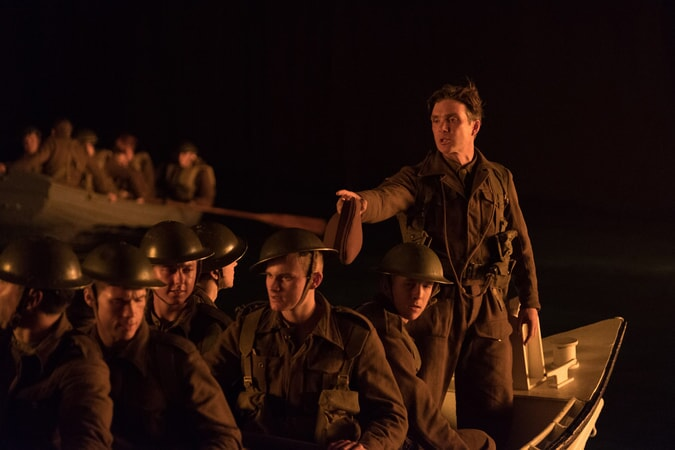 "CILLIAN MURPHY as Shivering Soldier in the Warner Bros. Pictures action thriller ""DUNKIRK,"" a Warner Bros. Pictures release."