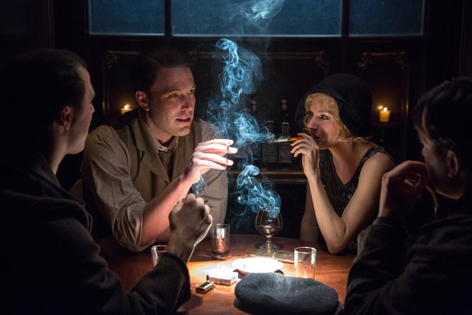 "BEN AFFLECK as Joe Coughlin and SIENNA MILLER as Emma Gould in Warner Bros. Pictures' dramatic crime thriller ""LIVE BY NIGHT,"" a Warner Bros. Pictures release."