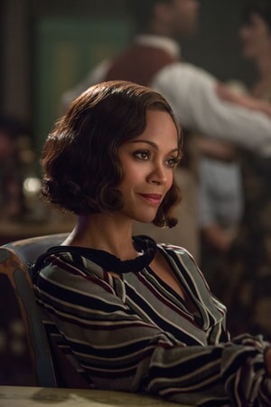 "ZOE SALDANA as Graciela in Warner Bros. Pictures' dramatic crime thriller ""LIVE BY NIGHT,"" a Warner Bros. Pictures release."