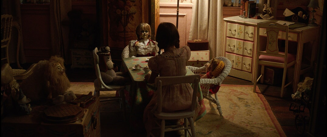 "The Annabelle doll in New Line Cinema's supernatural thriller ""ANNABELLE: CREATION,"" a Warner Bros. Pictures release."