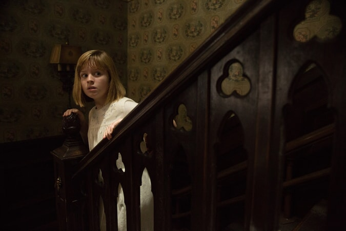 "LULU WILSON as Linda in New Line Cinema's supernatural thriller ""ANNABELLE: CREATION,"" a Warner Bros. Pictures release."
