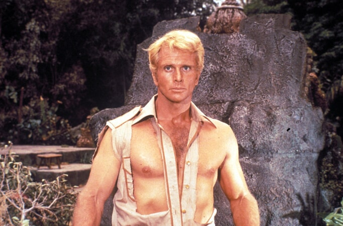 ron ely in doc savage: the man of bronze