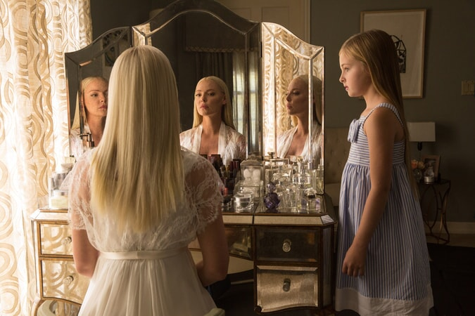 "KATHERINE HEIGL as Tessa Connover and ISABELLA KAI RICE as Lily Connover in Warner Bros. Pictures' dramatic thriller ""UNFORGETTABLE,"" a Warner Bros. Pictures release."