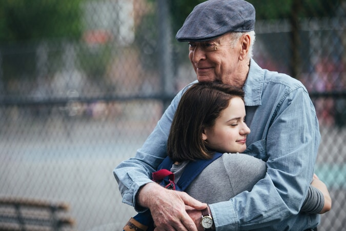"JOEY KING as Brooklyn Harding and MICHAEL CAINE as Joe Harding in the New Line Cinema and Village Roadshow comedy ""GOING IN STYLE,"" a Warner Bros. Pictures release."