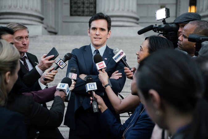 "MATT DILLON as FBI Agent Arlen Hamer in the New Line Cinema and Village Roadshow comedy ""GOING IN STYLE,"" a Warner Bros. Pictures release."