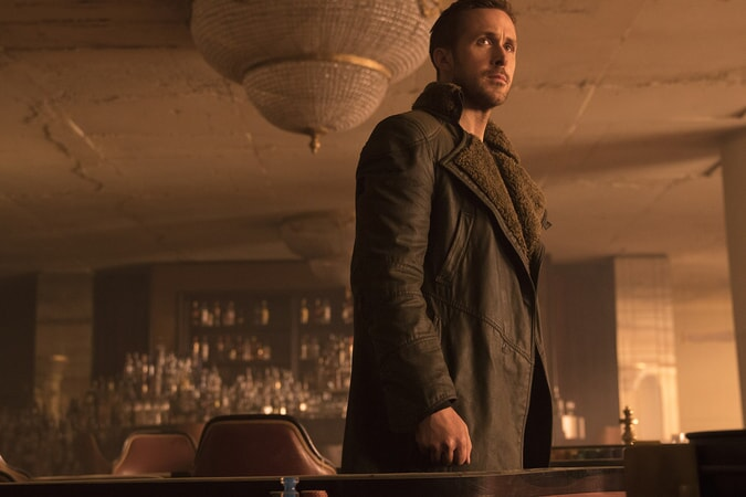 "RYAN GOSLING as K in Alcon Entertainment's action thriller ""BLADE RUNNER 2049,"" a Warner Bros. Pictures and Sony Pictures Entertainment release, domestic distribution by Warner Bros. Pictures and international distribution by Sony Pictures."