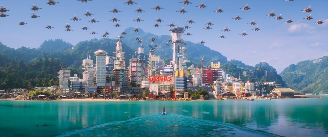 """A scene from the new animated adventure """"THE LEGO® NINJAGO® MOVIE,"""" from Warner Bros. Pictures and Warner Animation Group, in association with LEGO System A/S, a Warner Bros. Pictures release."""