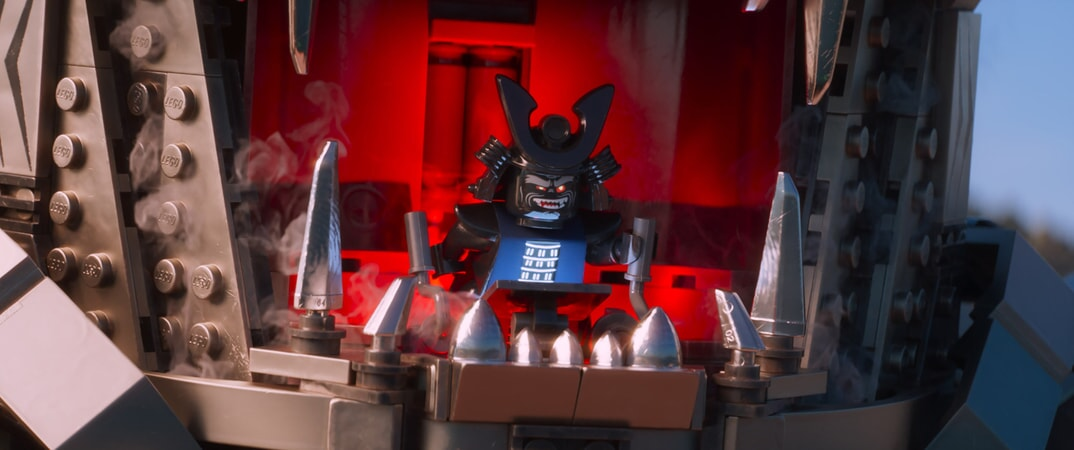 """Garmadon (voiced by JUSTIN THEROUX) in the new animated adventure """"THE LEGO® NINJAGO® MOVIE,"""" from Warner Bros. Pictures and Warner Animation Group, in association with LEGO System A/S, a Warner Bros. Pictures release."""
