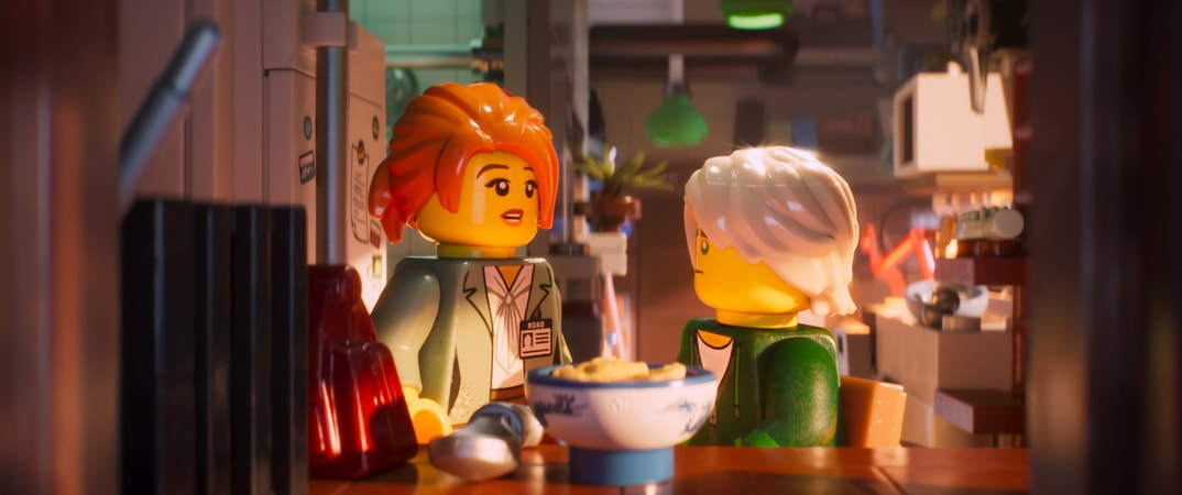 """(L-R) Koko (voiced by OLIVIA MUNN) and Lloyd (voiced by DAVE FRANCO) in the new animated adventure """"THE LEGO® NINJAGO® MOVIE,"""" from Warner Bros. Pictures and Warner Animation Group, in association with LEGO System A/S, a Warner Bros. Pictures release."""