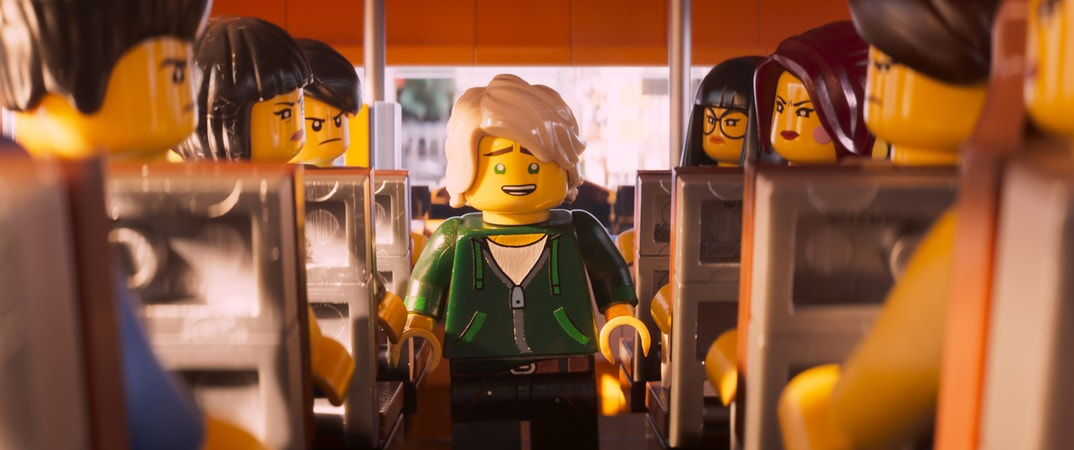 """(Center) Lloyd (voiced by DAVE FRANCO) in the new animated adventure """"THE LEGO® NINJAGO® MOVIE,"""" from Warner Bros. Pictures and Warner Animation Group, in association with LEGO System A/S, a Warner Bros. Pictures release."""