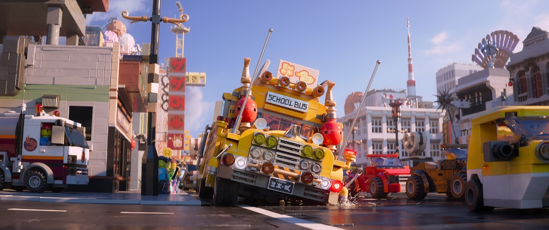 """A scene from the new animated adventure """"THE LEGO® NINJAGO® MOVIE,"""" from Warner Bros. Pictures and Warner Animation Group, in association with LEGO System A/S, a Warner Bros."""