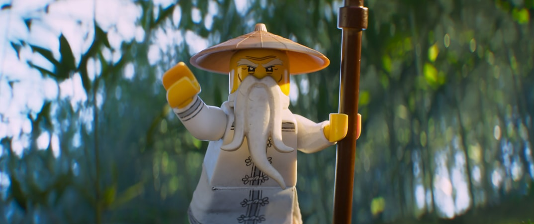 """Master Wu (voiced by JACKIE CHAN) in the new animated adventure """"THE LEGO® NINJAGO® MOVIE,"""" from Warner Bros. Pictures and Warner Animation Group, in association with LEGO System A/S, a Warner Bros. Pictures release."""