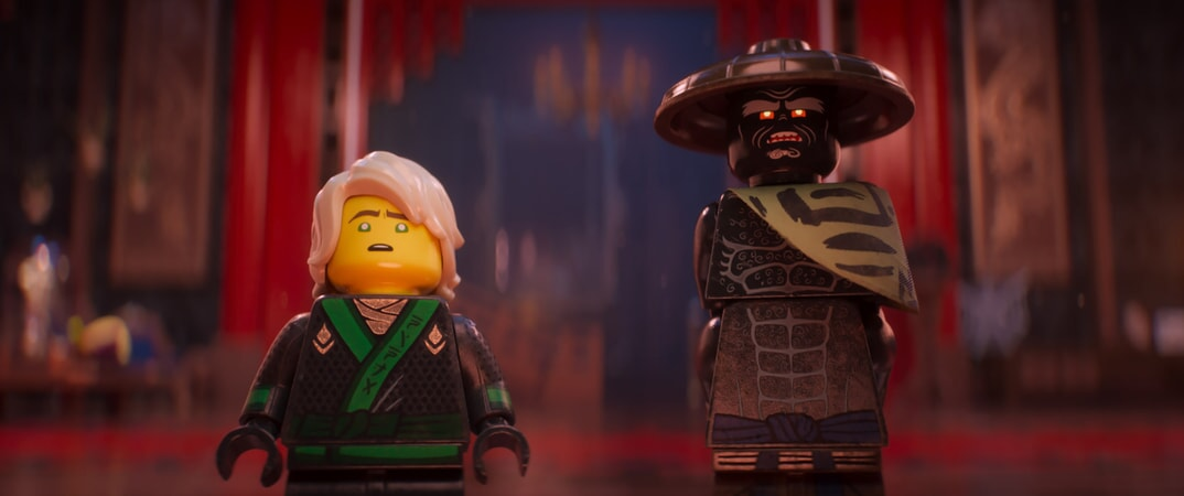 """(L-R) Lloyd (voiced by DAVE FRANCO) and Garmadon (voiced by JUSTIN THEROUX) in the new animated adventure """"THE LEGO® NINJAGO® MOVIE,"""" from Warner Bros. Pictures and Warner Animation Group, in association with LEGO System A/S, a Warner Bros. Pictures release."""