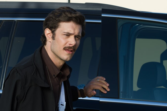 "ADAM BRODY as Clay Allen in Warner Bros. Pictures' action comedy ""CHIPS,"" a Warner Bros. Pictures release."