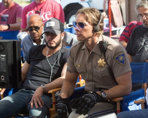 "Writer/director/star DAX SHEPARD behind the scenes on Warner Bros. Pictures' action comedy ""CHIPS,"" a Warner Bros. Pictures release."
