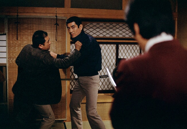 Takakura Ken in the yakuza.
