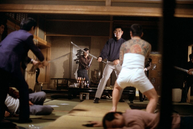 Takakura Ken does battle in the yakuza.