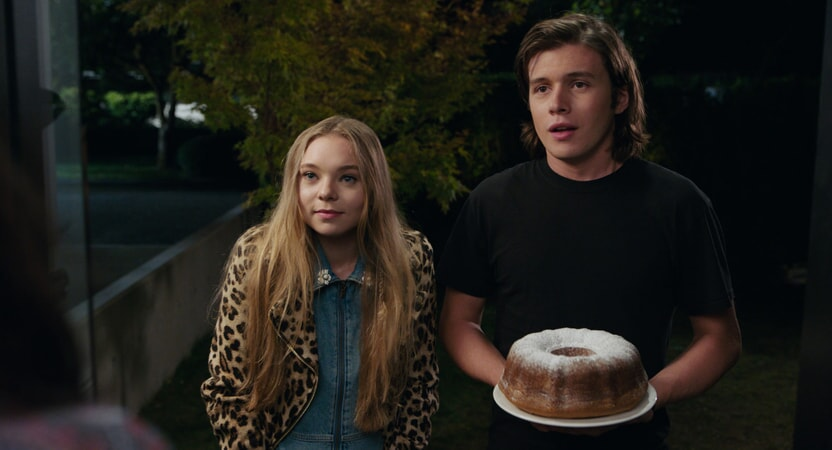 "TAYLOR HICKSON as Kayra and NICK ROBINSON as Olly in the Warner Bros. Pictures and Metro-Goldwyn-Mayer Pictures romantic drama ""EVERYTHING, EVERYTHING,"" a Warner Bros. Pictures release."