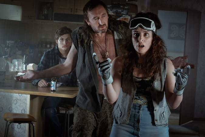 "TYE SHERIDAN as Wade, RALPH INESON as Rick and SUSAN LYNCH as Alice in Warner Bros. Pictures', Amblin Entertainment's and Village Roadshow Pictures' action adventure ""READY PLAYER ONE,"" a Warner Bros. Pictures release."