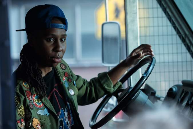 "LENA WAITHE as Helen in Warner Bros. Pictures', Amblin Entertainment's and Village Roadshow Pictures' action adventure ""READY PLAYER ONE,"" a Warner Bros. Pictures release."