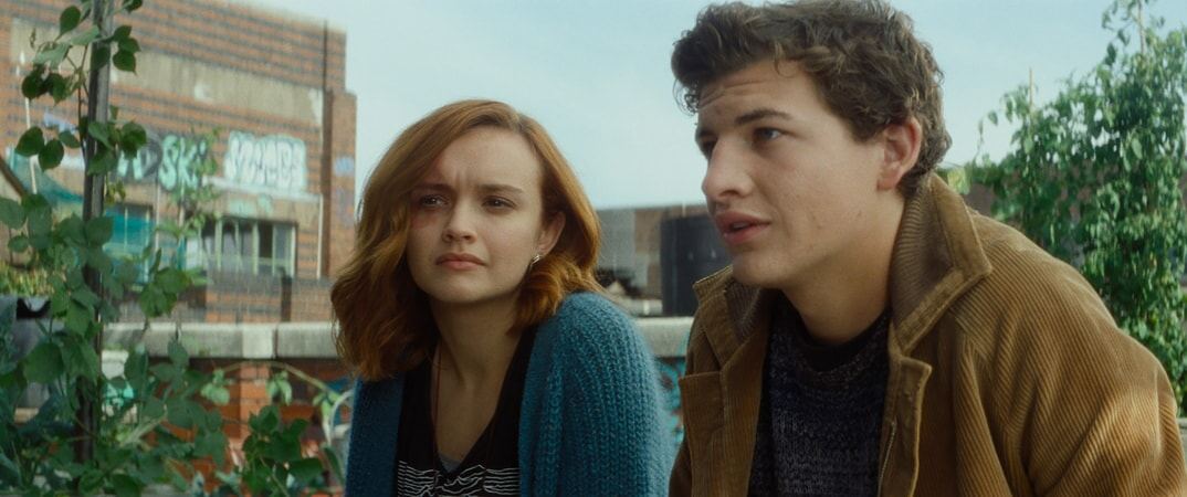 "(L-R) OLIVIA COOKE as Samantha and TYE SHERIDAN as Wade in Warner Bros. Pictures', Amblin Entertainment's and Village Roadshow Pictures' action adventure ""READY PLAYER ONE,"" a Warner Bros. Pictures release."
