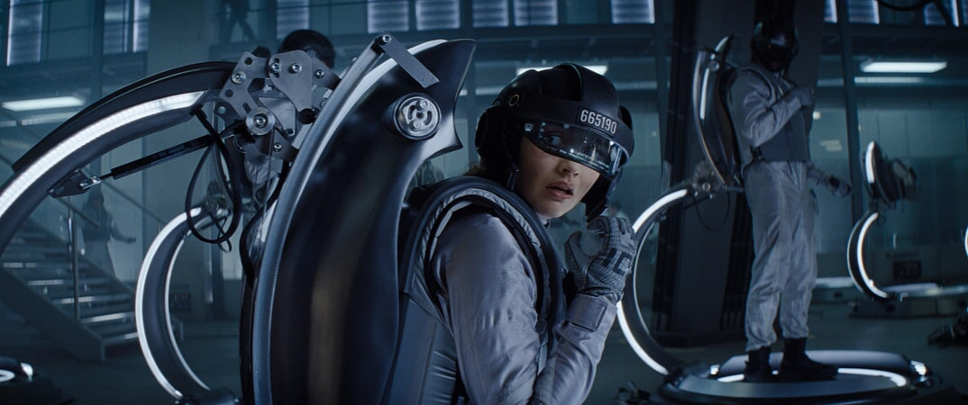 "OLIVIA COOKE as Samantha in Warner Bros. Pictures', Amblin Entertainment's and Village Roadshow Pictures' action adventure ""READY PLAYER ONE,"" a Warner Bros. Pictures release."