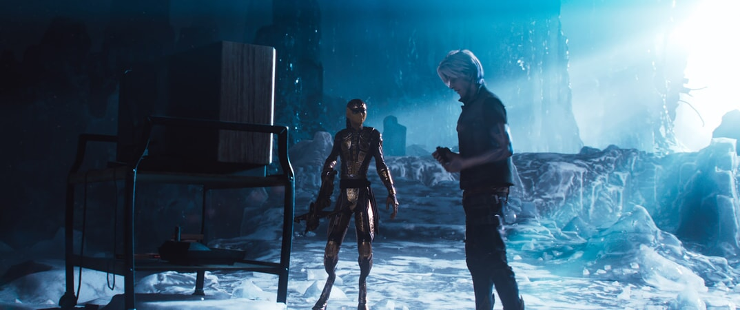 "(L-R) PHILIP ZHAO as Sho and TYE SHERIDAN as Parzival in Warner Bros. Pictures', Amblin Entertainment's and Village Roadshow Pictures' action adventure ""READY PLAYER ONE,"" a Warner Bros. Pictures release."