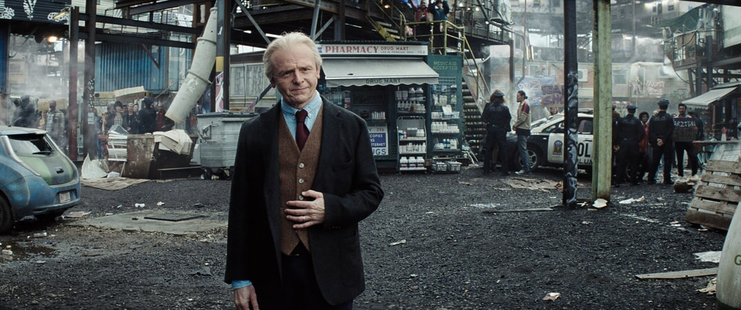 "SIMON PEGG as Ogden Morrow in Warner Bros. Pictures', Amblin Entertainment's and Village Roadshow Pictures' action adventure ""READY PLAYER ONE,"" a Warner Bros. Pictures release."