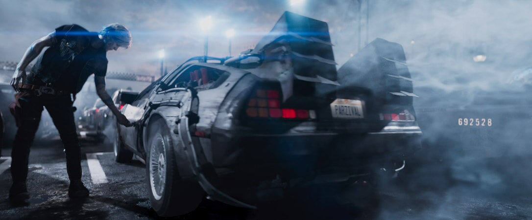 "TYE SHERIDAN as Parzival in Warner Bros. Pictures', Amblin Entertainment's and Village Roadshow Pictures' action adventure ""READY PLAYER ONE,"" a Warner Bros. Pictures release."