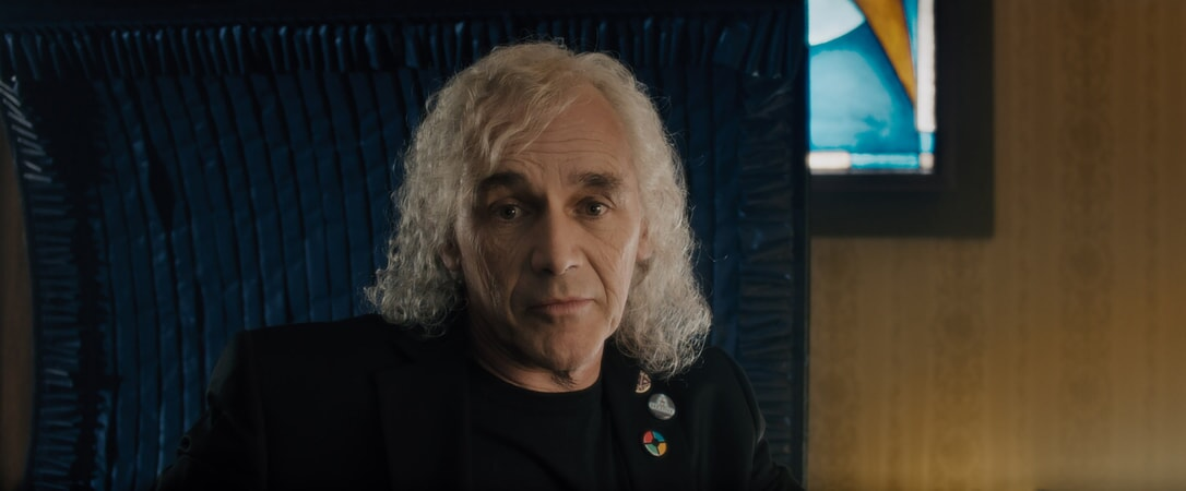 "MARK RYLANCE as James Halliday in Warner Bros. Pictures', Amblin Entertainment's and Village Roadshow Pictures' action adventure ""READY PLAYER ONE,"" a Warner Bros. Pictures release."