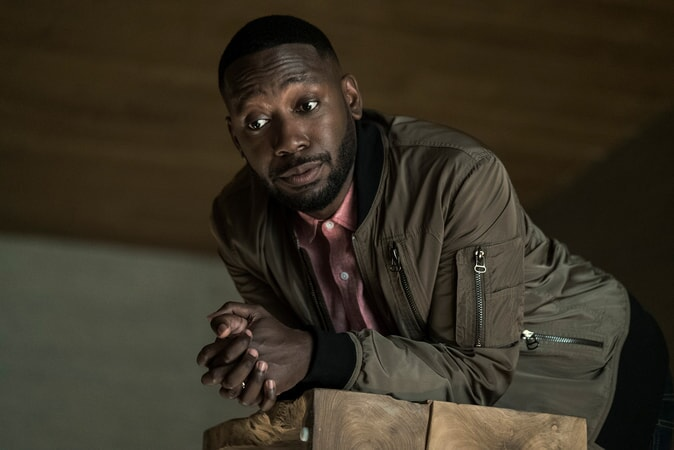 "LAMORNE MORRIS as Kevin in New Line Cinema's action comedy ""GAME NIGHT,"" a Warner Bros. Pictures release."