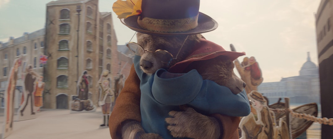 "Aunt Lucy voiced by IMELDA STAUNTON and Paddington voiced by BEN WHISHAW in the family adventure ""PADDINGTON 2,"" from Warner Bros. Pictures and STUDIOCANAL, in association with Anton Capital Entertainment S.C.A., a Warner Bros. Pictures release."