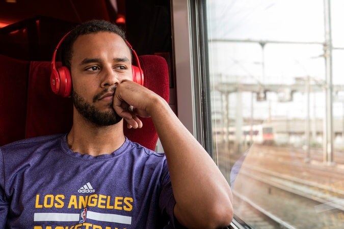 "ANTHONY SADLER as Anthony in Warner Bros. Pictures' and Village Roadshow Pictures' ""THE 15:17 TO PARIS,"" a Warner Bros. Pictures release."