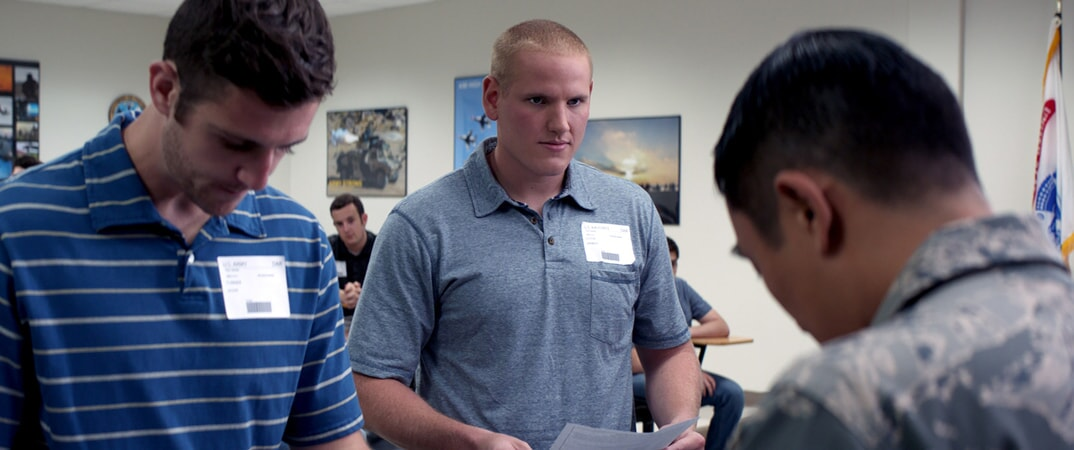 "SPENCER STONE as Spencer in Warner Bros. Pictures' and Village Roadshow Pictures' ""THE 15:17 TO PARIS,"" a Warner Bros. Pictures release."