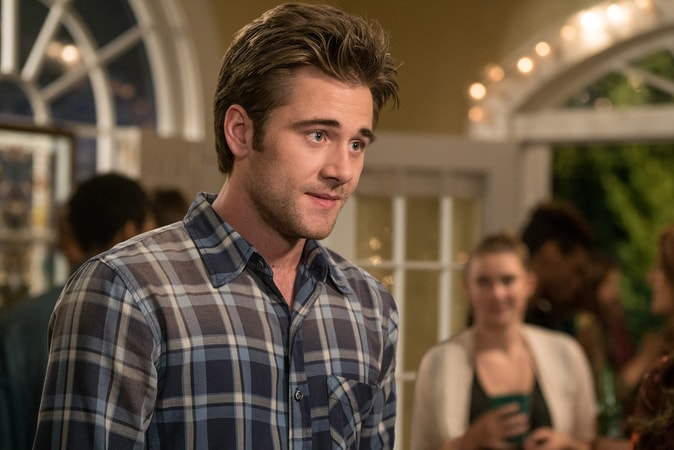 "LUKE BENWARD as Jack in New Line Cinema's comedy ""LIFE OF THE PARTY,"" a Warner Bros. Pictures' release."