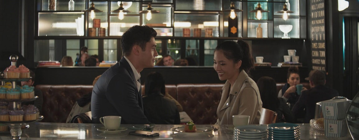 "(L-R) HENRY GOLDING as Nick and CONSTANCE WU as Rachel in Warner Bros. Pictures' and SK Global Entertainment's contemporary romantic comedy ""CRAZY RICH ASIANS,"" a Warner Bros. Pictures release."