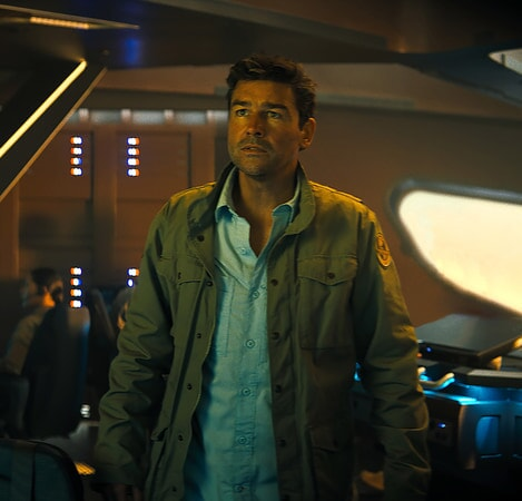 KYLE CHANDLER as Dr. Mark Russell