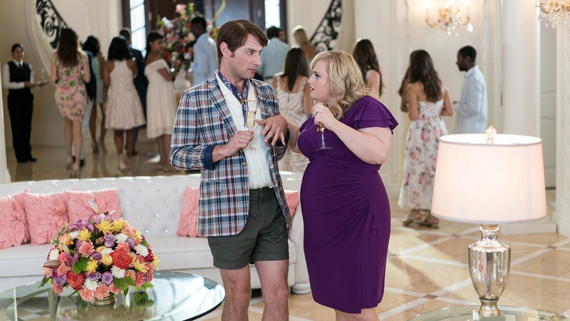 (L-R) BRANDON SCOTT JONES as Donny and REBEL WILSON as Natalie