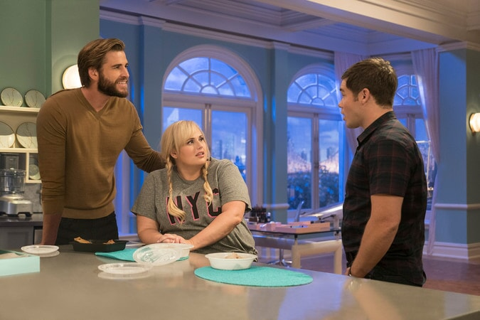 (L-R) LIAM HEMSWORTH as Blake, REBEL WILSON as Natalie