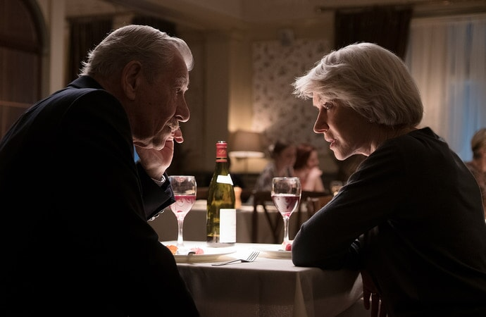 IAN McKELLEN as Roy Courtnay and HELEN MIRREN as Betty McLeish