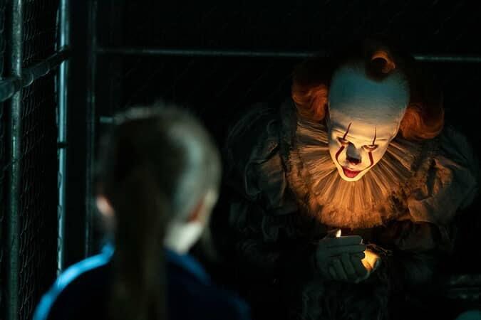 BILL SKARSGÅRD as Pennywise