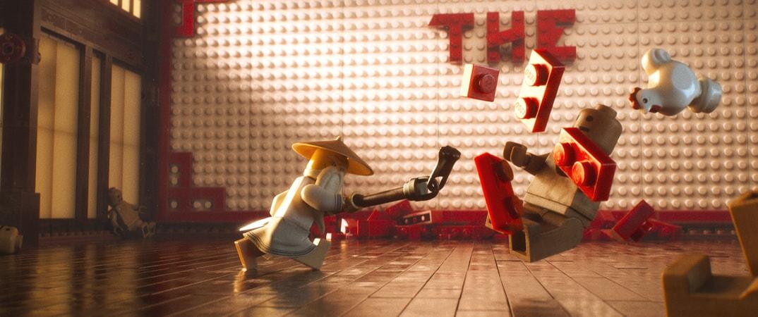 LEGO Ninjago action sequence