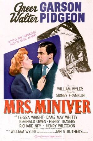 Mrs. Miniver - Poster 2