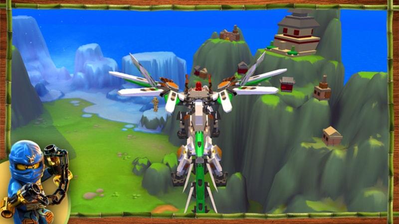 LEGO Ninjago: Shadow of Ronin aerial screenshot