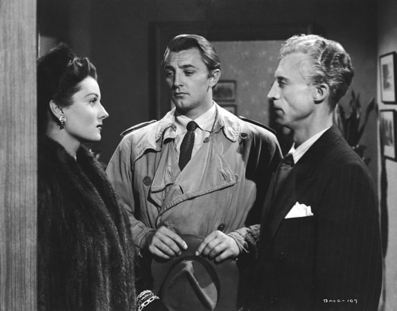robert mitchum, jane greer and ken niles in out of the past available now on blu-ray, dvd and digital