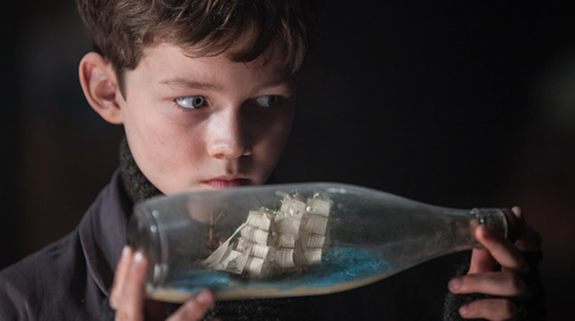 "LEVI MILLER as Peter in Warner Bros. Pictures' and RatPac-Dune Entertainment's action adventure ""PAN,"" a Warner Bros. Pictures release."